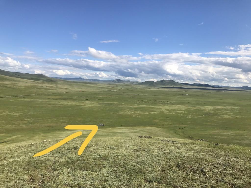 Zwischen Ulaanbaatar und der russischen Grenze bei Altanbulag