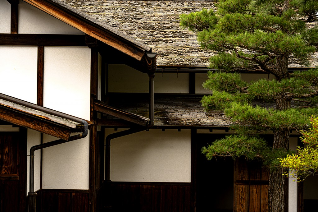 The Takayama Jinya house, once home to the local prefecture